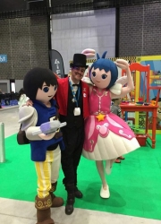 costume performers for hire at the SECC