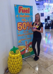 drink sampling staff silverburn shoping centre
