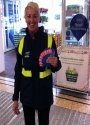 supermarket flyering staff in Glasgow