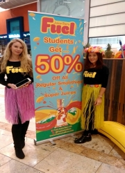 promo girls Silverburn Glasgow