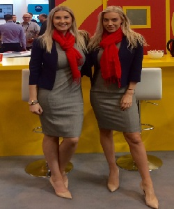 exhibition and conference hostesses Aberdeen