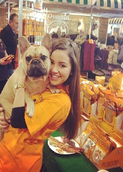 hire promo staff for the dog lovers show Glasgow