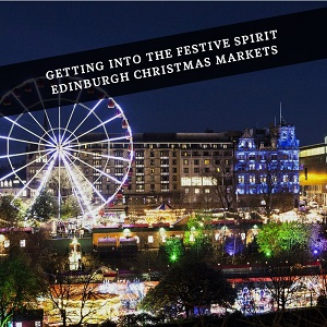 hire temporary staff for the edinburgh Christmas markets