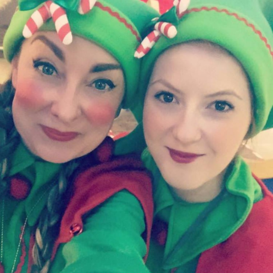 Elves and Festive Characters in Scotland