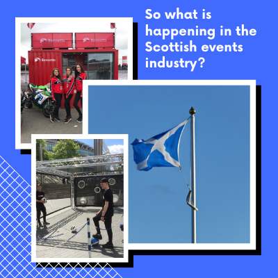 So what is happening in the Scottish events industry_