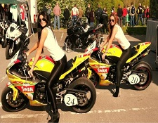Grid Girls Knock Hill